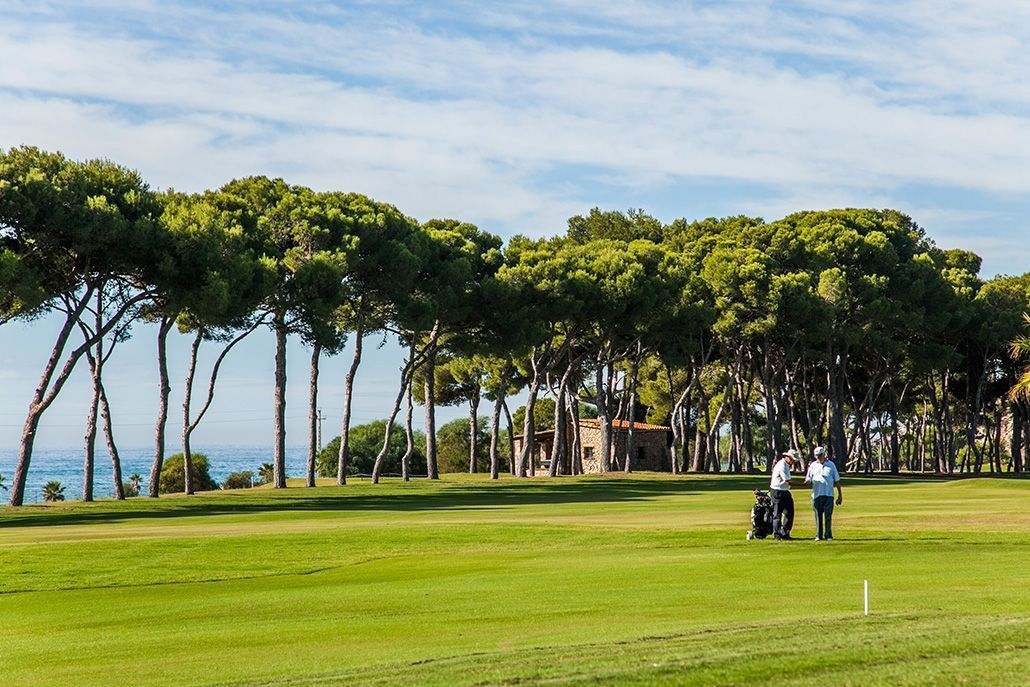 Terramar Golf Club Sitges near Sea