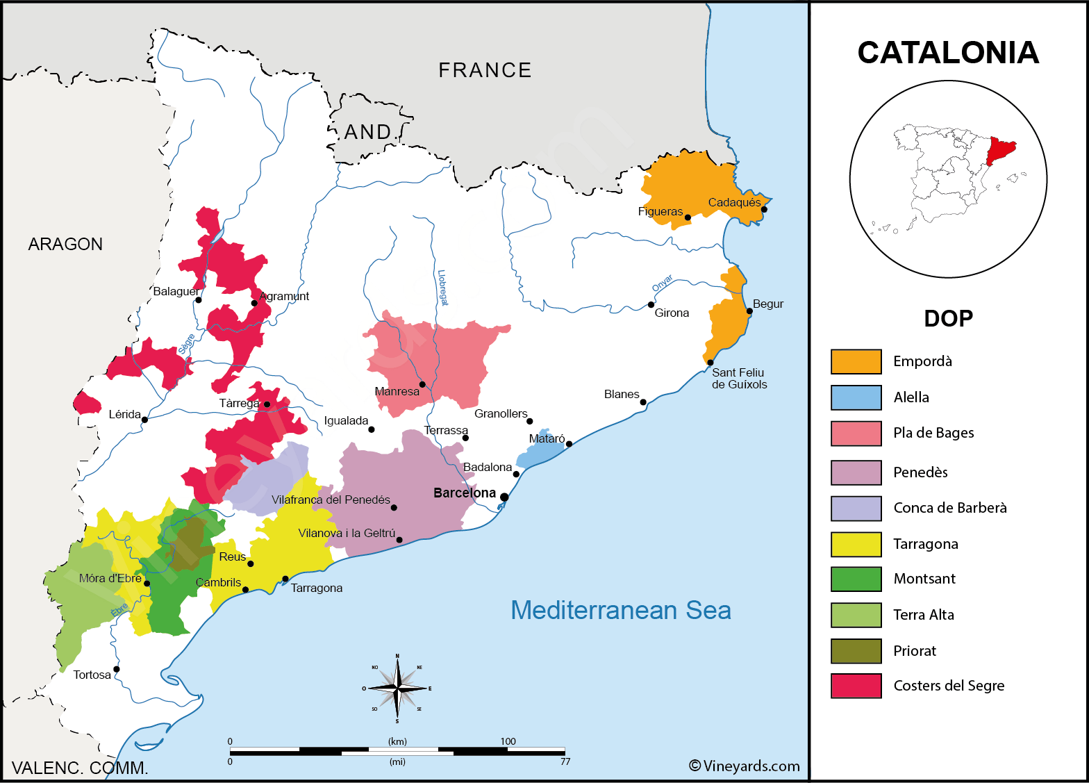 catalonia-wine-map