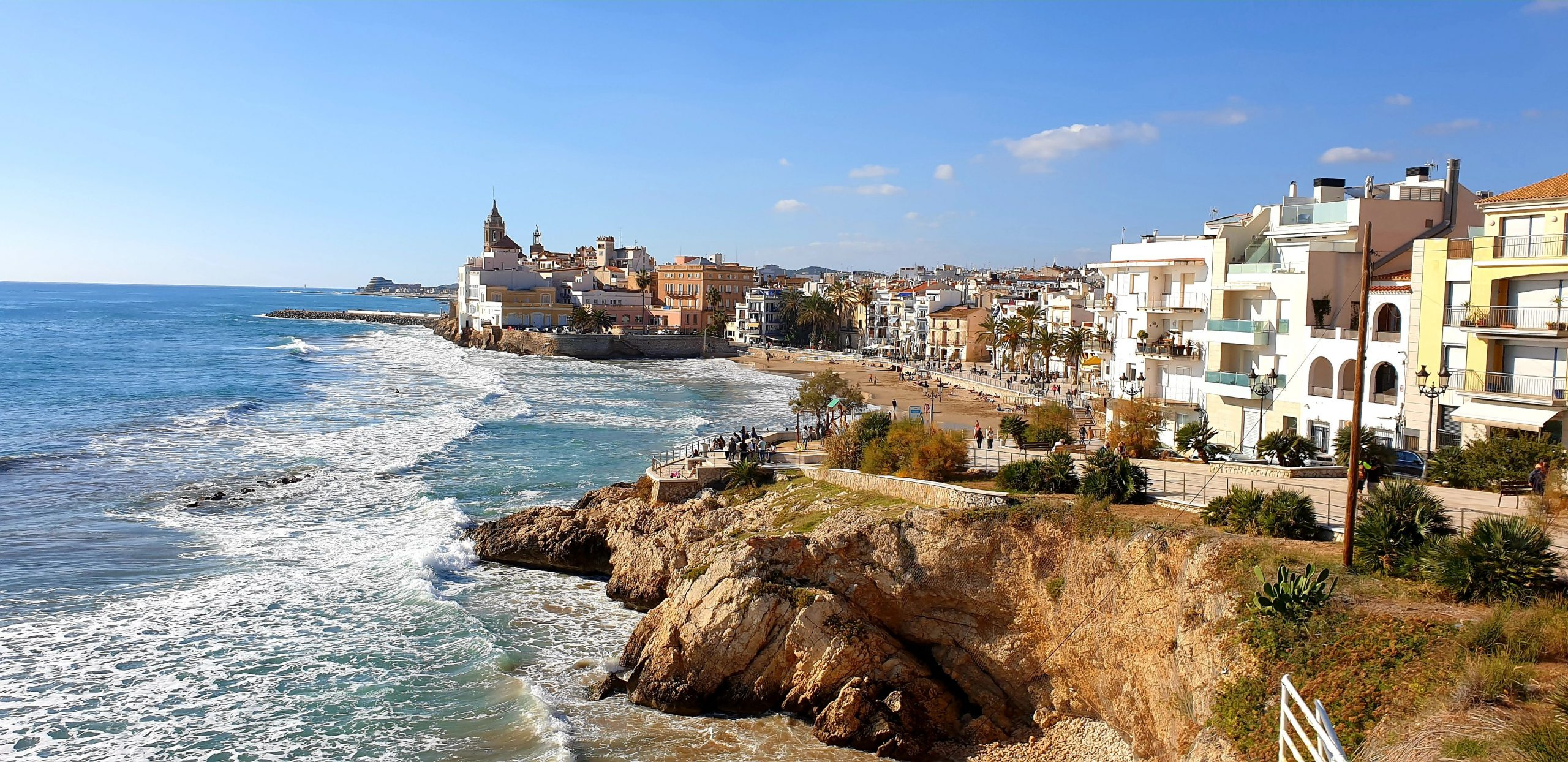 Sitges-waterfront